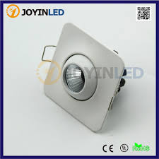 10pcs recessed lights 3w 5w mini led downlight dimmable 110v 220v