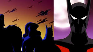 justice league unlimited favorite animated shows batman beyond vs justice league