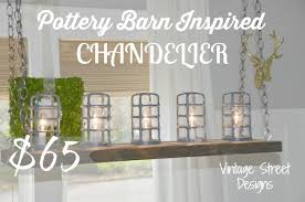 Pottery Barn Mason Jar Chandelier Pottery Barn Inspired Chandelier