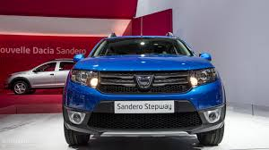 renault sandero stepway interior paris 2012 dacia sandero stepway live photos autoevolution