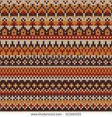 seamless fair isle knitted pattern festive and fashionable