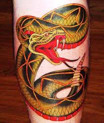 30 scary snake tattoos slodive