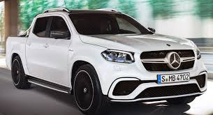 mercedes pick up mercedes amg x63 pickup is unlikely food for thought carscoops