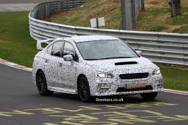subaru nurburgring new subaru wrx sti on the nürburgring