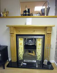 Yellow Fireplace Showroom Fireplaces From Stores Direct