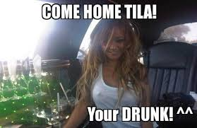 Funny Tequila Memes - come home tila meme slapcaption com on we heart it