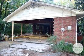 House With Carport by Turning A Carport Into Bedrooms Plantation Relics