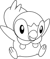exciting piplup coloring pages 8 pokemon piplup coloring pages