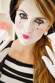 cute halloween cat makeup best 25 mime makeup ideas on pinterest clown makeup mime