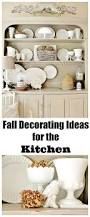 fall decorating ideas for the kitchen and a funny story
