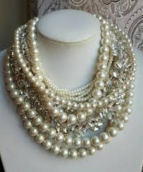 chunky pearl statement necklace images Chunky pearl necklace luxury jewelry by christine smith for jpg