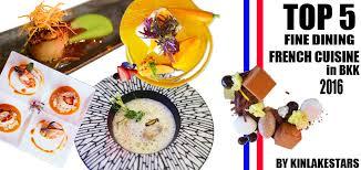 cuisine a la รวมร ว ว top 5 cuisine dining in bkk 2016 5 ร าน ส ดยอด