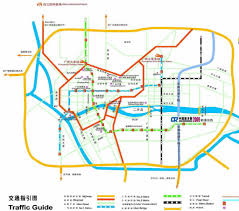 Shenzhen Metro Map Shenzhen Travel Maps Tourist New Zone