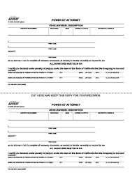 Durable Power Of Attorney Form Pdf by Free California Power Of Attorney Forms Adobe Pdf Word