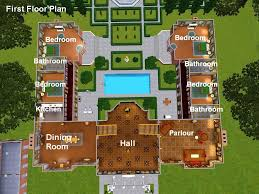 the sims 3 house floor plans architectures georgian colonial mansion georgian colonial