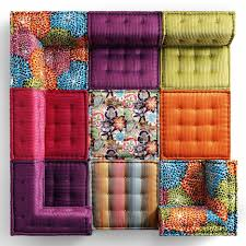 mah jong canapé roche bobois mah jong sofa in and recreated for charity