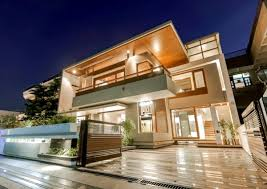 contemporary style architecture flat roof house with yard contemporary architecture solutions