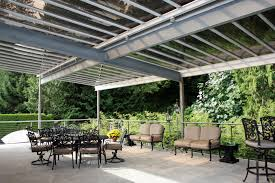 Metal Pergolas With Canopy by S T I Steeltec Industries Ltd U2013 Galvanized Steel Pergola With