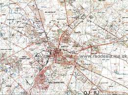 Ung Map Rhodesian Maps Archive Of Rhodesia