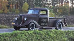 Old Ford Truck Grills - 1937 ford pickup rat rod youtube