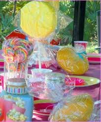 Candyland Theme Decorations - cotton candy party favors home design ideas
