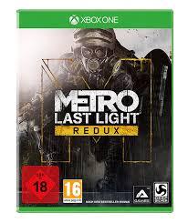 K He Komplett Metro Last Light Redux Xbox One Amazon De Games