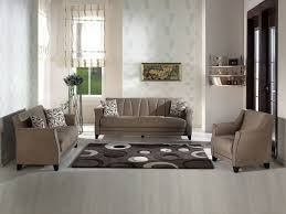 sophisticated modern living room design with comfy beige couch set