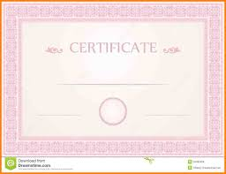 8 certificate border pink appeal leter