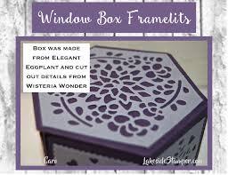 how to hang a window box window hexagon box lakesidestamper com