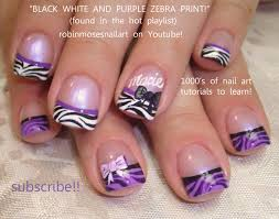 gorgeous purple nail designs for short nails cool nail designs
