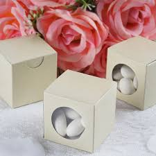 wedding favor boxes wholesale window 300 pcs wedding favor boxes 2 x 2 party decorations