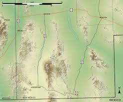 Topographical Map Of New Mexico by File New Mexico Bootheel Topo V1 Jpg Wikimedia Commons