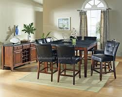 Black Granite Kitchen Table by Cool Granite Top Dining Table Sets For Your Best Kitchen Room
