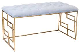 Contemporary Bedroom Bench - gold bedroom bench u2013 home image ideas
