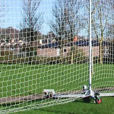 mobile ball stop net 130ft x 19ft net world sports