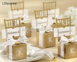 wedding gift boxes wedding favors gift boxes miniature gold chair favor box with