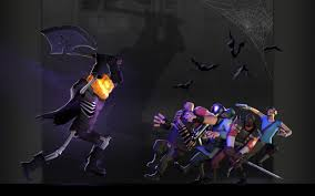 teen titans halloween background pictures desktops team fortress 2 backgrounds group 74