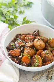 Balsamic Roast Beef In Oven Honey Balsamic Slow Cooker Beef Stew Video