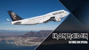 iron maiden ed force one special youtube
