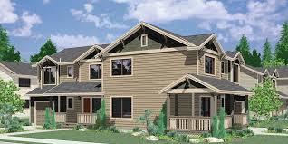 gorgeous design corner lot craftsman house plans 11 duplex plans