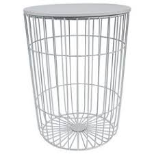 hudson wire frame side table mint target australia play room