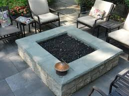how to clean bluestone bluestone fire pit square modular gas fired fire pit in an