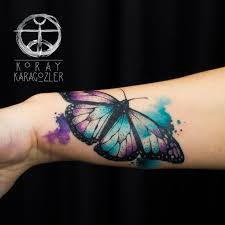 the 25 best colorful butterfly tattoo ideas on pinterest