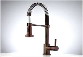 spiral kitchen faucet kitchen canisters bronze rubbed bronze spiral pull