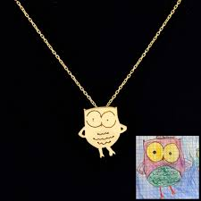 children s jewelry children s drawings turned into finely crafted jewelry colossal