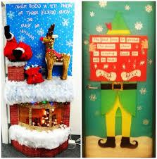 Christmas Reindeer Door Decorations by Best Door Decoration Inspiration For Kids At Christmas Fun With Kids