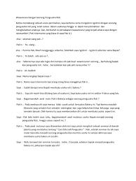 contoh laporan wawancara pedagang bakso tugas wawancara dengan pengusaha soto mie asli bogor segala www