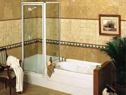 bath tub shower combo design ideas