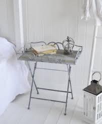 grey metal bedside table grayswood folding grey bedside table bedroom furniture ebay