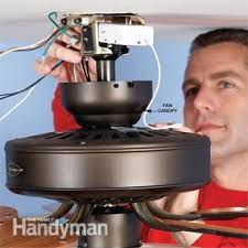 installing remote control ceiling fan how to install a ceiling fan remote family handyman